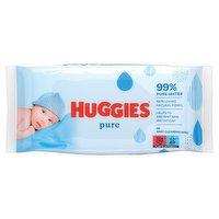Huggies® Pure Baby Wipes - 1 Pack (56 Wipes/Pack)
