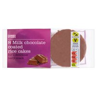 Dunnes Stores 8 Milk Chocolate Coated Rice Cakes 135g