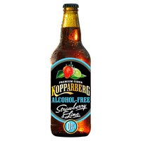 Kopparberg Alcohol-Free Premium Cider with Strawberry & Lime 500ml
