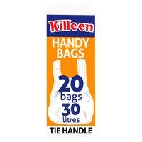 Killeen Tie Handle Handy Bags 20 Bags 30 Litres