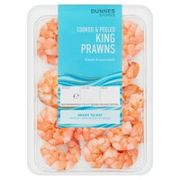 Dunnes Stores Cooked & Peeled King Prawns