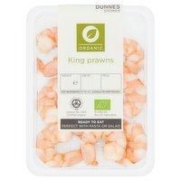 Dunnes Stores Organic King Prawns 90g