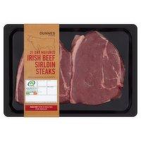 Dunnes Stores Irish Beef Sirloin Steaks 440g