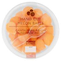 Dunnes Stores Hand Cut Melon Balls Cantaloupe Melon, Honeydew Melon 450g