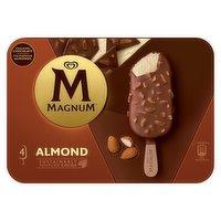 Magnum Almond Ice Cream 4 x 100 ml