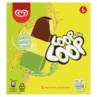 Loop the Loop Lemon Sherbet Flavour 6 x 390ml