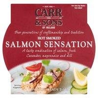 Carr & Sons of Ireland Hot Smoked Salmon Sensation 200g