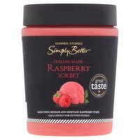 Dunnes Stores Simply Better Raspberry Sorbet 500ml
