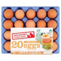 Rockfort Farm Eggs 20 Fresh Jumbo Eggs