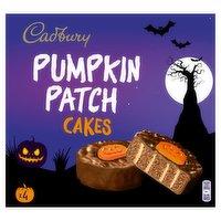 Cadbury 4 Pumpkin Patch Cakes