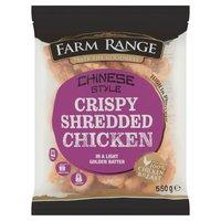 Farm Range Chinese Style Crispy Shredded Chicken 550g