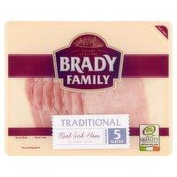 Brady Family Traditional Irish Ham 90g
