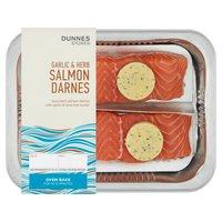 Dunnes Stores Garlic & Herb Salmon Darnes 260g