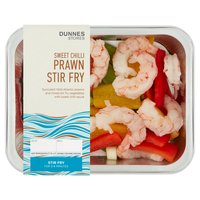 Dunnes Stores Sweet Chilli Prawn Stir Fry 260g