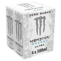 Monster Energy Ultra  4 x 500ml