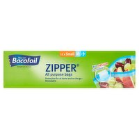 Bacofoil Zipper All Purpose Bags 15x Small