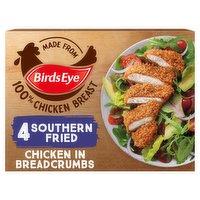 Birds Eye 4 Southern Fried Chicken in Breadcrumbs 360g