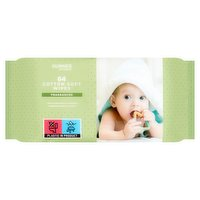 Dunnes Stores Fragranced Extra Soft Cotton Soft Wipes 64 Wipes