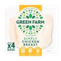 Green Farm Simply Chicken Breast Slices 100g