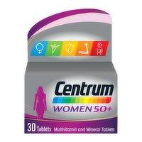 Centrum Women 50+ Multivitamins & Minerals, 30 Tablets