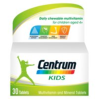 Centrum Kids Multivitamins & Minerals, 30 Tablets