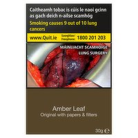 Amber Leaf Original with Papers & Filters 30g
