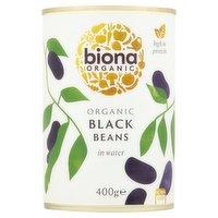 Biona Organic Black Beans in Water 400g