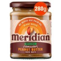 Meridian Organic Smooth Peanut Butter 280g