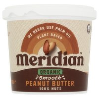 Meridian Organic Smooth Peanut Butter 1kg