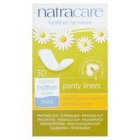 Natracare 30 Organic Cotton Cover Mini Panty Liners