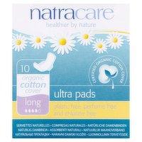 Natracare 10 Ultra Pads Long
