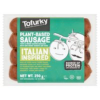 Tofurky Plant-Based Sausage Italian Inspired 250g