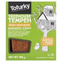 Tofurky Treehouse Tempeh Smoky Maple Bacon 198g