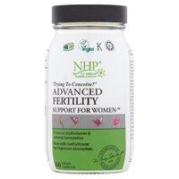 NHP Advance Fertility Support for Women 60 Vegan Capsules