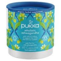 Pukka Wholistic Ashwagandha Organic 60 Capsules