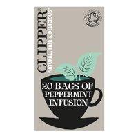Clipper Organic Peppermint 20 Unbleached Bags 30g