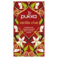 Pukka Organic Vanilla Chai 20 Herbal Tea Sachets 40g