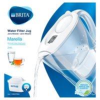 BRITA Marella Water Filter Jug 2.4L White