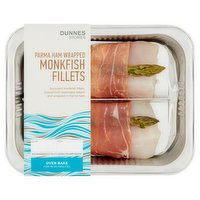Dunnes Stores Parma Ham Wrapped Monkfish Fillets 266g