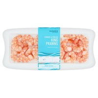 Dunnes Stores Cooked & Peeled King Prawns 140gm