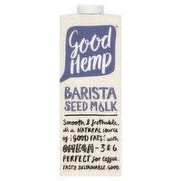 Good Hemp Barista Seed Milk 1L