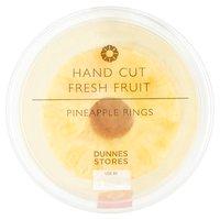Dunnes Stores Hand Cut Fresh Fruit Pineapple Rings 400g