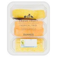 Dunnes Stores Fresh Fruit Tropical Trio 300g