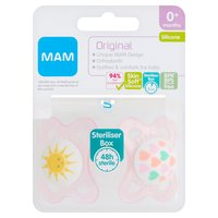 MAM Original Silicone Soother 0+ Months