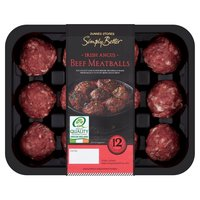Dunnes Stores Simply Better 12 Irish Angus Beef Meatballs 300g