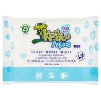 Kandoo Aquas 50 Toilet Water Wipes