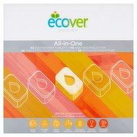 Ecover All-In-One Lemon & Mandarin Dishwasher Tablets 1.36kg