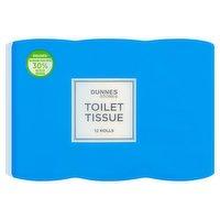 Dunnes Stores Toilet Tissue 12 Rolls