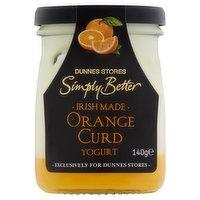 Dunnes Stores Simply Better Irish Made Orange Curd Yogurt 140g