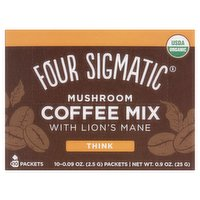 Four Sigmatic Mushroom Coffee Mix with Lion's Mane 10 x 2.5g (25g)